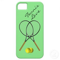 Tennis Love IPhone 5  Case