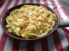 Käsespätzle - Trudels glutenfreies Kochbuch, glutenfrei backen und kochen bei Zöliakie. Glutenfreie Rezepte, laktosefreie Rezepte, glutenfreies Brot