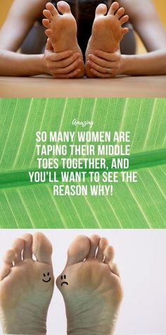 So Many Women Are Taping Their Middle Toes Together, And You'll Want To See The Reason Why! - Informationen zu So Many Women Are Taping Their Middle Toes Together, And You'll Want To See The - Nike Air Monarch, Muscle Building Diet, Muscle Building Workouts, Health And Fitness Articles, Health And Nutrition, Health Heal, Health And Beauty Tips, Health Tips, Wellness Fitness