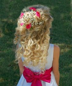 flower girl hairstyles - Google Search
