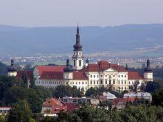 Hradisko Monastery (Czech language: Klášter Hradisko) is a premonstratensian monastery in Olomouc in the Czech Republic. It was established in 1078 and it serves as an military hospital since 1802.