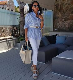 Mode Outfits, Chic Outfits, Fashion Outfits, Womens Fashion, Summer Dresses For Women, Summer Outfits, Spring Summer Fashion, Autumn Fashion, Conservative Fashion