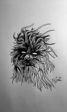 Chewbacca, Inktober day 2