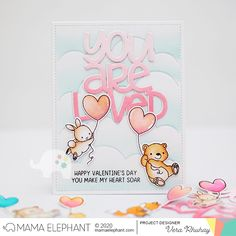 mama elephant | design blog: STAMP HIGHLIGHT: Up With Love