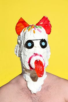 James_Ostrer_02        Grotesque Portraits of People Wearing a Junk Food Face Mask