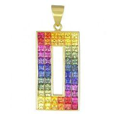 Rainbow pendant.