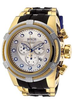 You all know I love watches so here's one that continues to inspire! Sweet Invicta watch