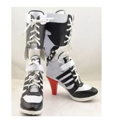 09fb713a31b1 New Batman Suicide Squad Harley Quinn Cosplay shoes Anime Boots high  quality Tailor Made