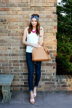 Spring outfit with fun accessories | Love, Lenore