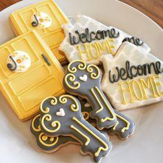 Housewarming Decorated Sugar Cookies