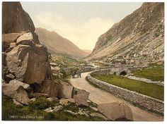 [Pass I, Llanberis, Wales]    [between ca. 1890 and ca. 1900].