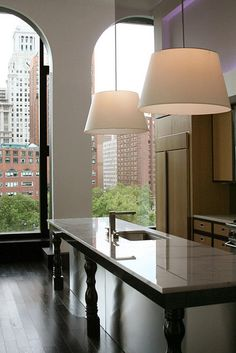 luving the marble table top and simple lamp shades. For smart #stonecare tips, visit: http://themarbleman.com.au/