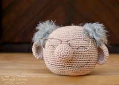 Crochet Eyeglasses Holder