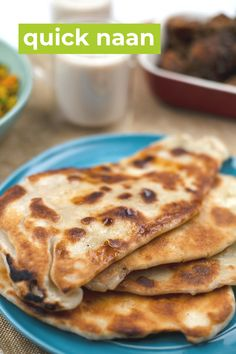Quick Naan Bread Recipe, Recipes With Naan Bread, Pan Fried Bread, Pan Bread, Cooking Recipes, Healthy Recipes, Aesthetic Videos, How To Make Bread, Breads