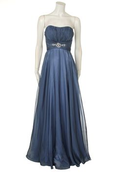 Strapless Evening Dress with Beaded Accent Rent Prom Dresses, Dresses Dresses, Strapless Dress Formal, Evening Dresses, Formal Dresses, Wedding Dresses, Always A Bridesmaid, Bridesmaid Flowers, Bridesmaids