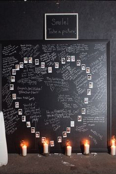 Guestbook-What a great idea for wedding or family reunions