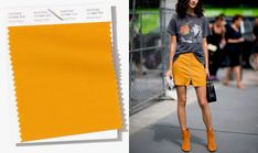 Pantone 2019: 10 cores para apostar na primavera/verão e arrasar Pantone Color, Color Trends, Shirt Dress, T Shirt, Casual Looks, High Waisted Skirt, My Style, Color Palettes, Chokers