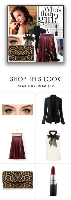 """""""Beauty upon the light"""" by ayannap ❤ liked on Polyvore featuring Avon, Chicsense, Cuero, Christian Louboutin, Gianvito Rossi, MAC Cosmetics, Diane James, women's clothing, women's fashion and women"""