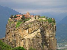 Monastery Agia Triada in Meteora, Trikala, Thessaly, Greece