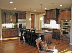 Rustic Kitchen | Plan 091D-0489 | House Plans and More