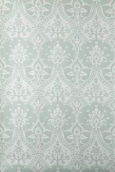 #InteriorDesign. House Beautiful Award winners Farrow & Ball, Brocatto wallpaper
