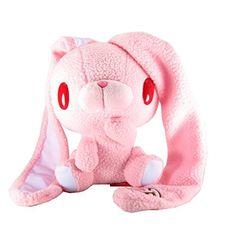 pretty pink Bear Bunny plushie .。.:*❤
