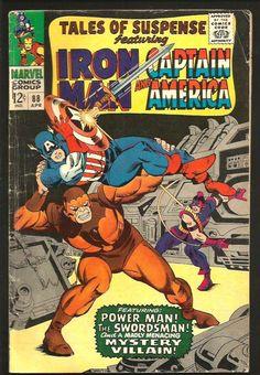 TALES OF SUSPENSE #88 Iron Man Capt.America Power Man STAN LEE Avengers GIL KANE