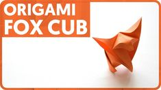 [DIAGRAM] Origami Fox, Fox Cub (Fumiaki Shingu, Jakub Krajewski)