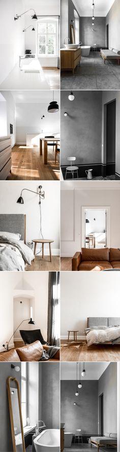 Binnenkijken in een minimalistisch interieur | basic | grijs | cognac - Makeover.nl