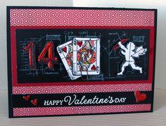 Tim Holtz Valentine Card  For Details: www.inboxwhimsy.com