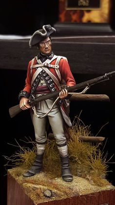British infantry, ca. 1778. Euromilitaire 2015. Artist not known