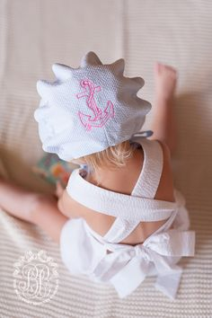 Betsey Bow Back Set (more colors) | The Beaufort Bonnet Company How precious is this!!!!