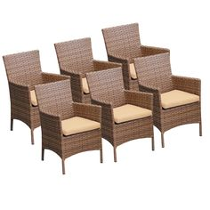 Laguna Dining Arm Chair with Cushion
