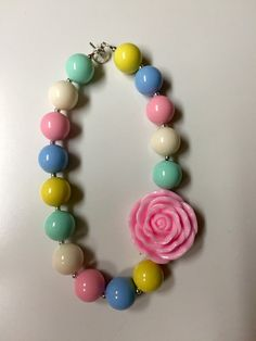 NEW M2M Hello Lovely Matilda Jane Chunky Necklace by SweetM2M