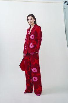 Fashion News, Fashion Brands, High Fashion, Womens Fashion, Marimekko Dress, Simple Wardrobe, Floral Pants, Lino Prints, Block Prints