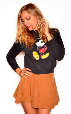 Vintage Mickey Mouse Sweater $55
