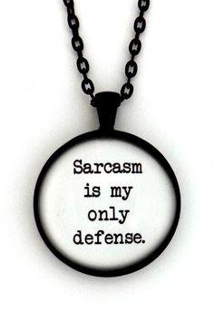 Teen Wolf Stiles Stilinski Sarcasm Is My Only Defense by Merchandise…