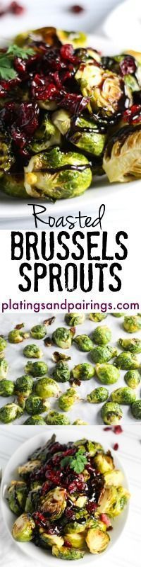 Seriously the BEST Brussels Sprouts I've tried!  platingsandpairings.com