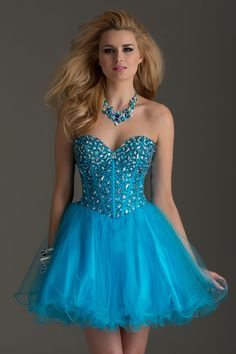 2015 Stunning Homecoming Dress Sweetheart A Line Short/Mini With Beads