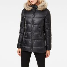 now on eboutic.ch - down coat for woman Blue Jeans, Denim Jeans, G Star Raw, Down Coat, Winter Jackets, Woman, Shorts, Pants, Fashion