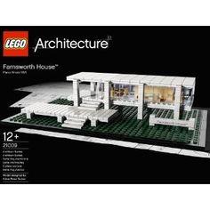 Lego Architecture - 21009 - Jeu de Construction - Farnsworth House: Amazon.fr: Jeux et Jouets