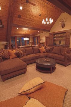 "I like the décor. Wood is beautiful.  To me this has the ""Canadian image"" or the ""Lodge""  look."