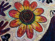 "Happy ""hombre-petaled"" flower"
