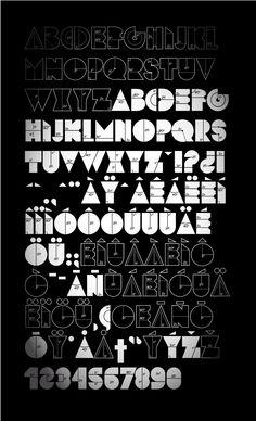 Pinterest asked me to enter a descriptio. Fantastic Font, maybe ?