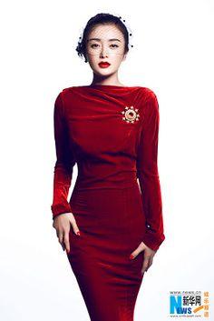 Actress Qin Lan releases new photos (Source: Xinhua)