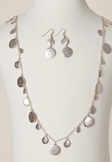 Homecoming Trunk Shows - Cameron Disc Set - Silver $24.99
