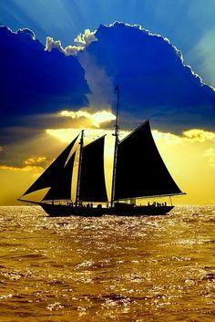 sails, sea, and sky