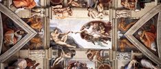 Sistine Chapel Ceiling, 1508-1512 - Michelangelo - DETAIL