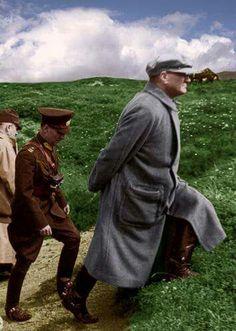 Turkish Leader Mustafa Kemal Ataturk.