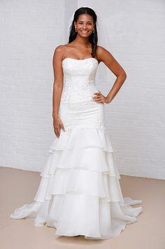 Melissa Sweet wedding dress for David's Bridal, Spring 2013